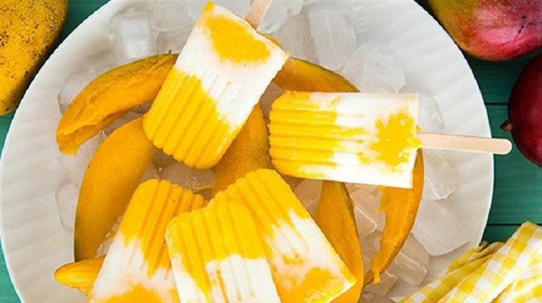 3 cách làm kem xoài với sữa tươi, đặc, sữa chua ngon ngọt tại nhà - Món Ngon