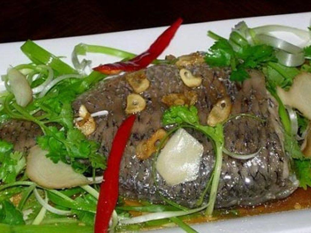món ngon từ cá - cá rô phi rim xì dầu