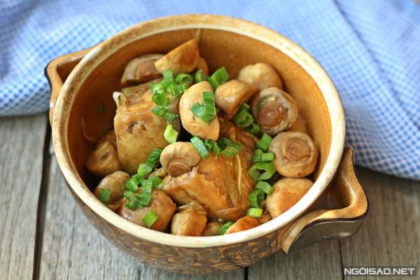 8 món nấm kho ngon hơn cả thịt cá - Ngôi sao