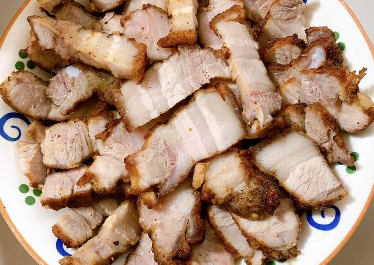 Cách Làm Món Thịt ba chỉ áp chảo của Oanh Ngọc - Cookpad
