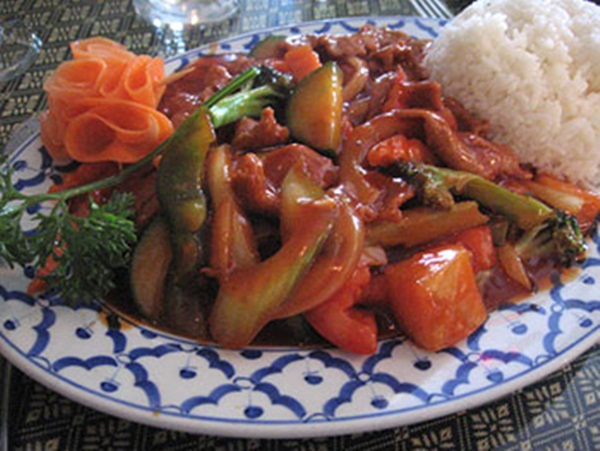 công thức thịt bò xào chua ngọt ngon đơn giản