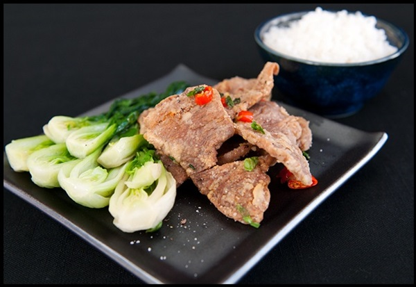 Cách nấu món thịt heo chiên muối ớt ngon nhưu quán