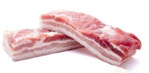 miếng thịt ba chỉ heo thơm ngon